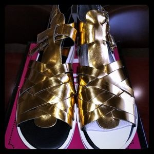 Gold Roman Sandles by Circus from Sam Edelman